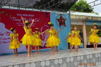 Vui Tết Trung Thu năm 2020 ở trường Tiểu học Vĩnh Bình Bắc 1